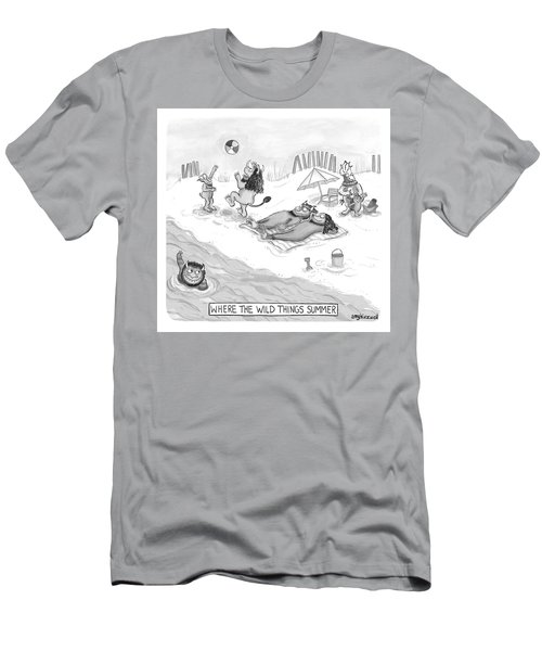 The Wild Things Men's T-Shirt (Athletic Fit)