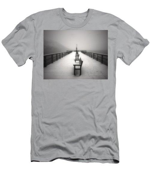 The Winter Pier Men's T-Shirt (Athletic Fit)