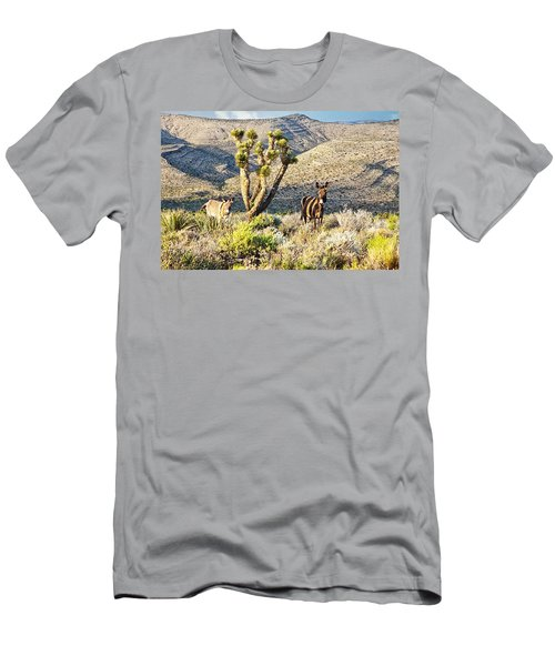 The Zebra Burro Men's T-Shirt (Athletic Fit)