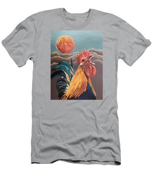 There Will Be A Great Rescue Men's T-Shirt (Slim Fit) by Nathan Rhoads