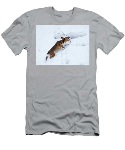 There's No Mountain To High Men's T-Shirt (Athletic Fit)