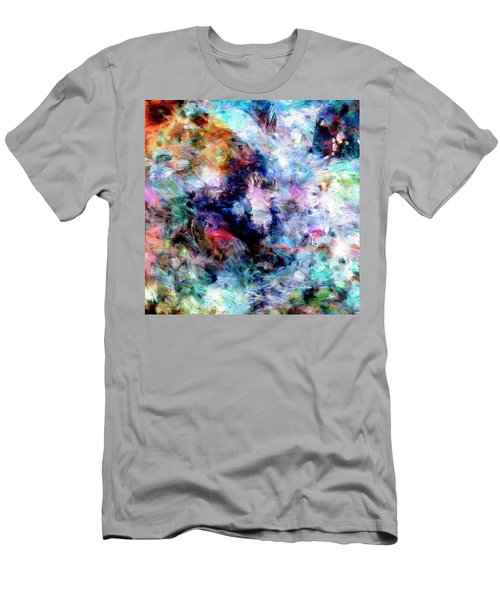 Men's T-Shirt (Slim Fit) featuring the painting Third Bardo by Dominic Piperata