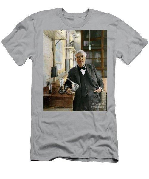 Thomas Alva Edison T Shirts Fine Art America