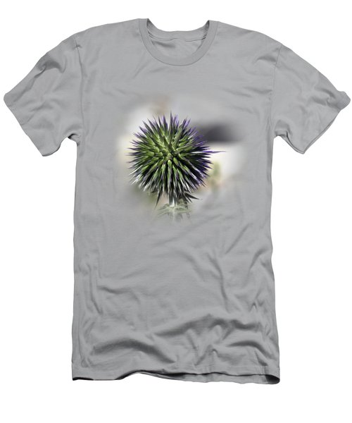 Thorn Flower T-shirt Men's T-Shirt (Slim Fit) by Isam Awad
