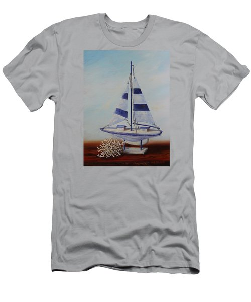 Thoughts Of Sea Men's T-Shirt (Athletic Fit)
