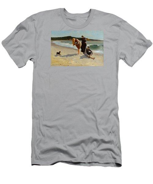 Three Bathers Men's T-Shirt (Slim Fit) by  Newwwman
