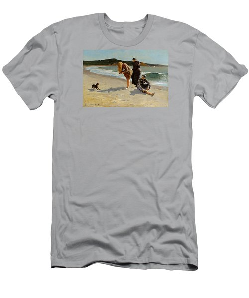 Three Bathers Men's T-Shirt (Athletic Fit)