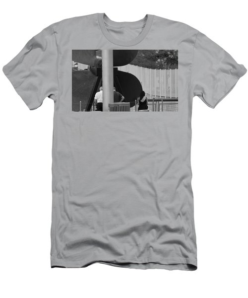 Three Is A Company Men's T-Shirt (Slim Fit) by Jose Rojas