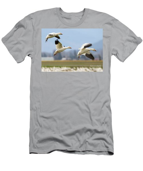Three Landing Men's T-Shirt (Athletic Fit)