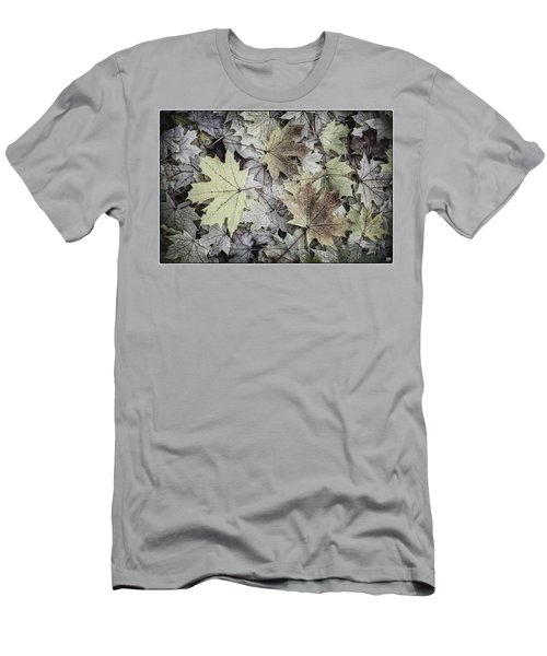 Three Leaves Men's T-Shirt (Slim Fit)