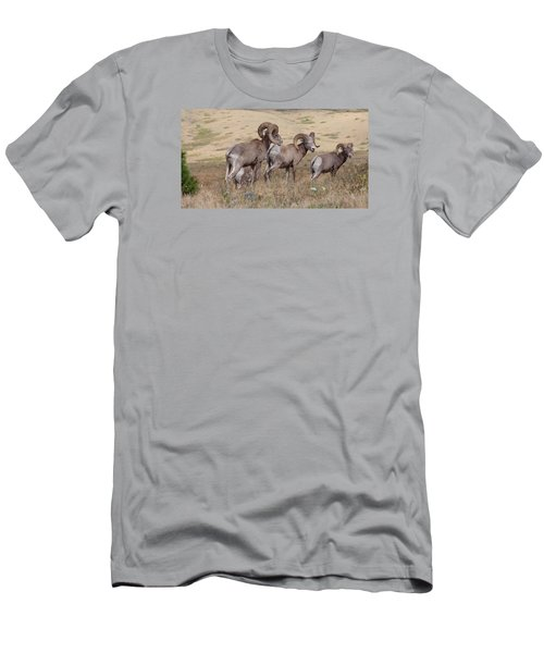 Men's T-Shirt (Athletic Fit) featuring the photograph Three Of A Kind by Fran Riley