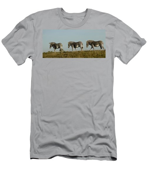 Three On The Horizon Men's T-Shirt (Athletic Fit)