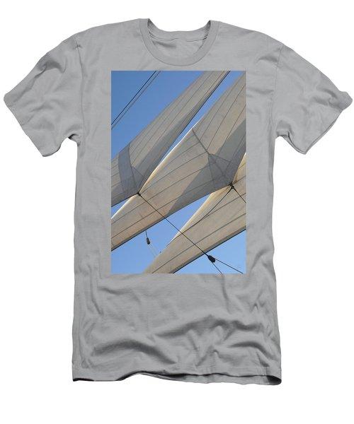 Three Sails Men's T-Shirt (Athletic Fit)