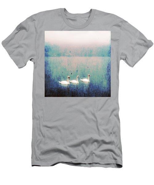 Three Swans Men's T-Shirt (Athletic Fit)