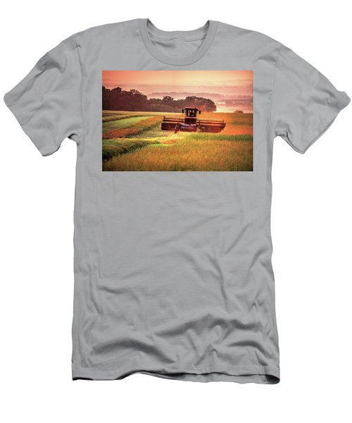Swathing On The Hill Men's T-Shirt (Athletic Fit)