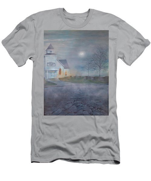 Through The Fog Men's T-Shirt (Slim Fit) by T Fry-Green