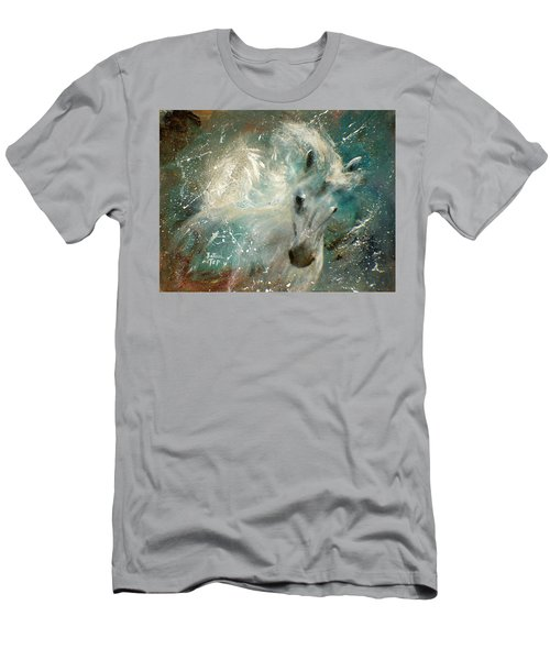 Poseiden's Thunder Men's T-Shirt (Slim Fit) by Barbie Batson
