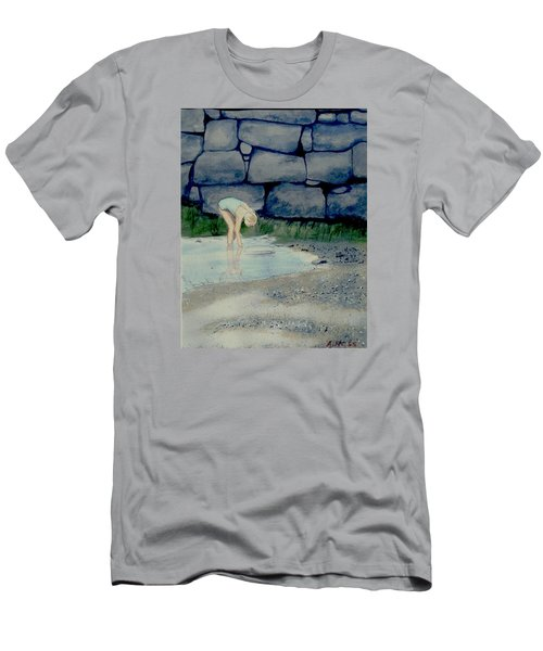 Tidal Pool Treasures Men's T-Shirt (Athletic Fit)