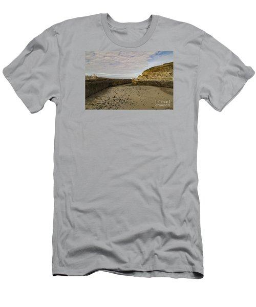 Tide Out Portreath Men's T-Shirt (Slim Fit)