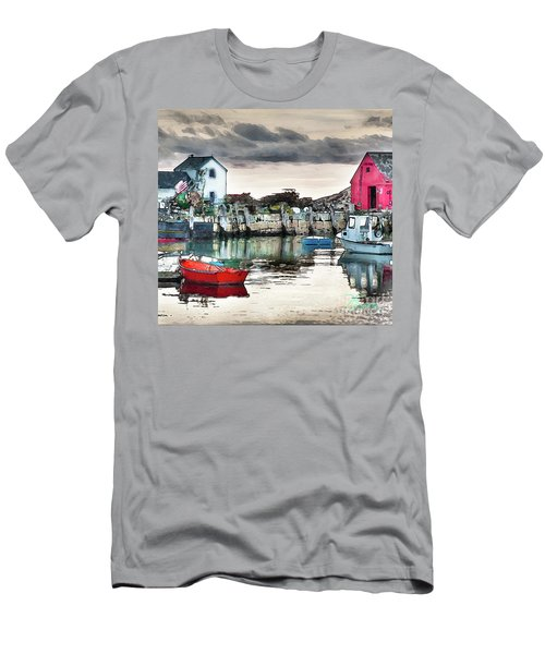 Men's T-Shirt (Slim Fit) featuring the photograph Tide's Out by Tom Cameron