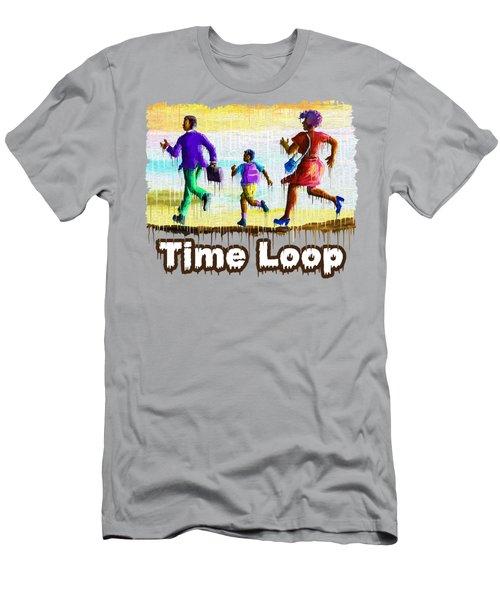 Time Loop Men's T-Shirt (Athletic Fit)