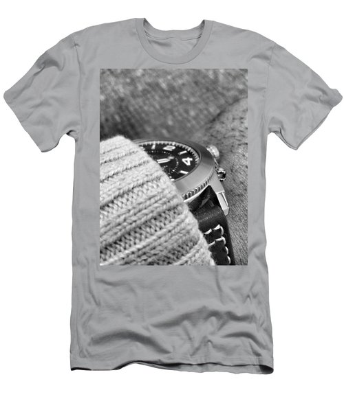 Men's T-Shirt (Athletic Fit) featuring the photograph Time Machine by Robert Knight