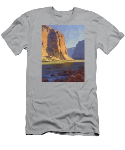 Time Stands Tall  Men's T-Shirt (Athletic Fit)