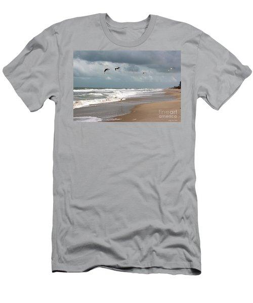 Timeless Men's T-Shirt (Slim Fit) by Megan Dirsa-DuBois