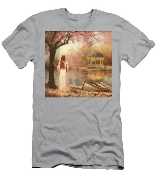 Men's T-Shirt (Athletic Fit) featuring the painting Timeless by Steve Henderson