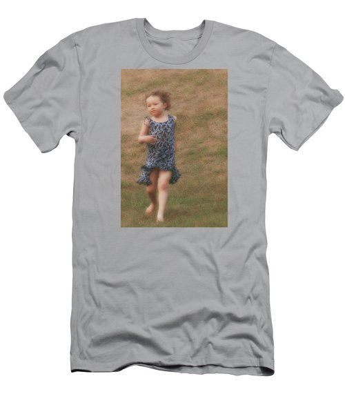 To Be Free Men's T-Shirt (Slim Fit) by The Art Of Marilyn Ridoutt-Greene