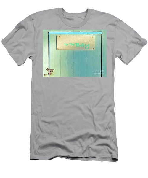 Men's T-Shirt (Slim Fit) featuring the photograph To The Bay by Joe Jake Pratt