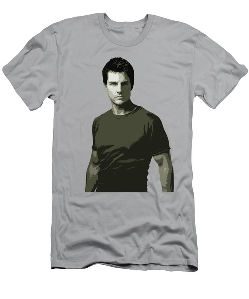 Tom Cruise Cutout Art Men's T-Shirt (Athletic Fit)