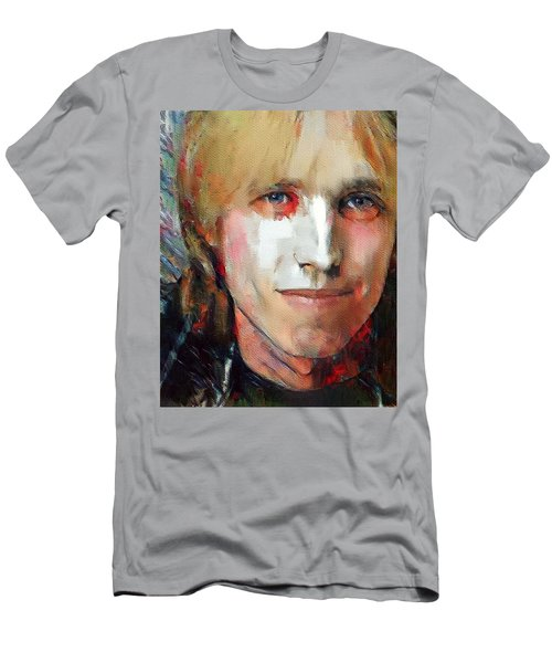 Tom Petty Tribute Portrait 3 Men's T-Shirt (Athletic Fit)