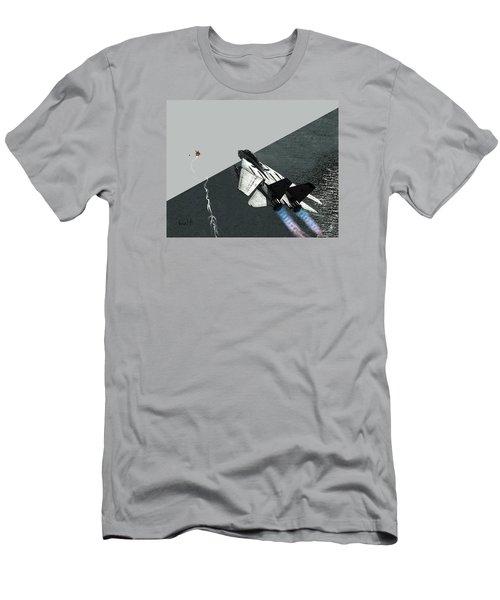 Tomcat Kill Men's T-Shirt (Slim Fit) by Walter Chamberlain