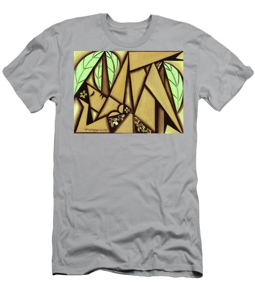 Tommervik Hawaiian Woman Sunbathing Art Print Men's T-Shirt (Athletic Fit)