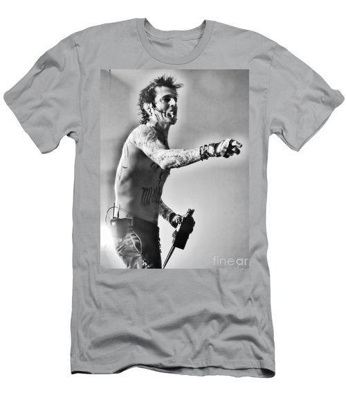 Men's T-Shirt (Slim Fit) featuring the photograph Tommy Boy by Traci Cottingham