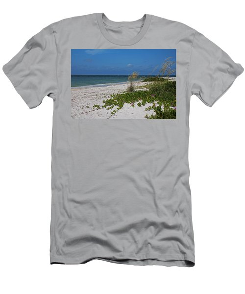 Men's T-Shirt (Athletic Fit) featuring the photograph Too Much Space Between Us by Michiale Schneider