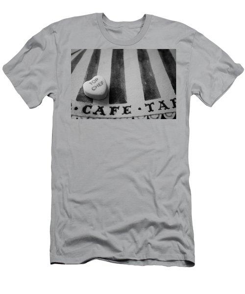Top Chef Candy Heart Men's T-Shirt (Slim Fit) by Toni Hopper