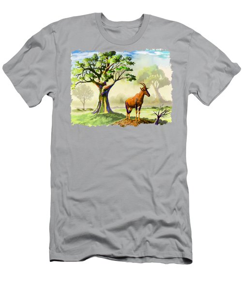 Topi The Antelope Men's T-Shirt (Athletic Fit)