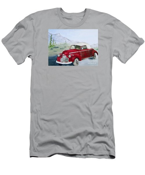 Topless 1940 Chevy Men's T-Shirt (Athletic Fit)