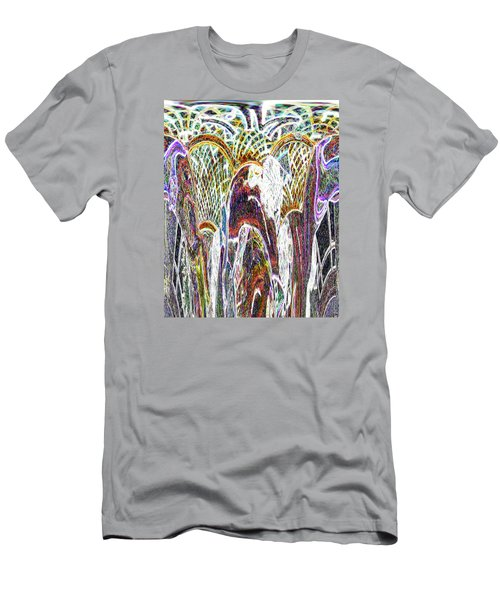 Topsy Turvy Mystic Tribute  Abstract Art Men's T-Shirt (Athletic Fit)