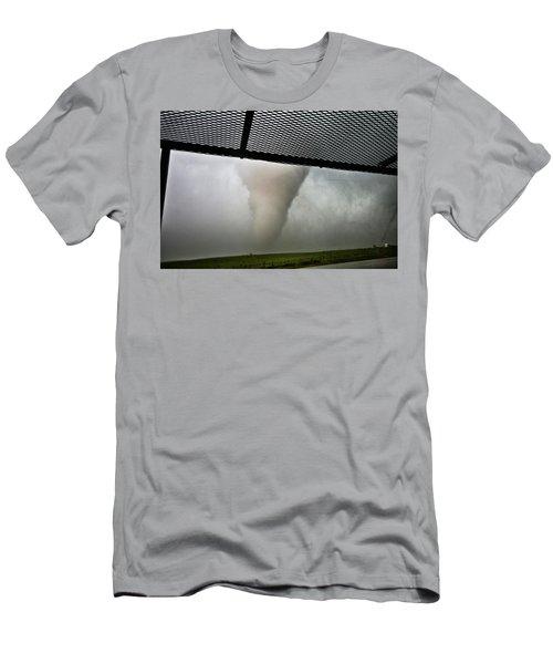 Tornado Near Yorkton Sk. Men's T-Shirt (Athletic Fit)