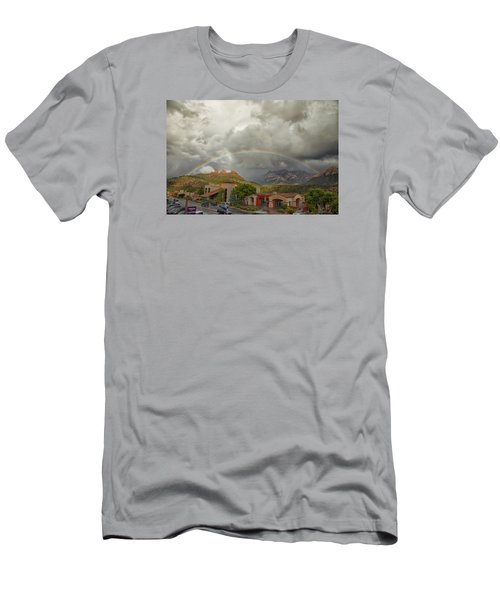 Men's T-Shirt (Slim Fit) featuring the photograph Tour And Explore by Tom Kelly