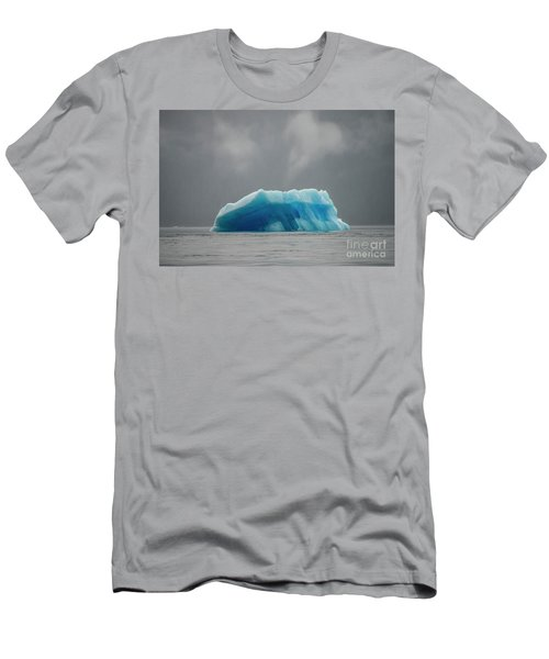 Iceberg - Tracy Arm Fjord Men's T-Shirt (Athletic Fit)