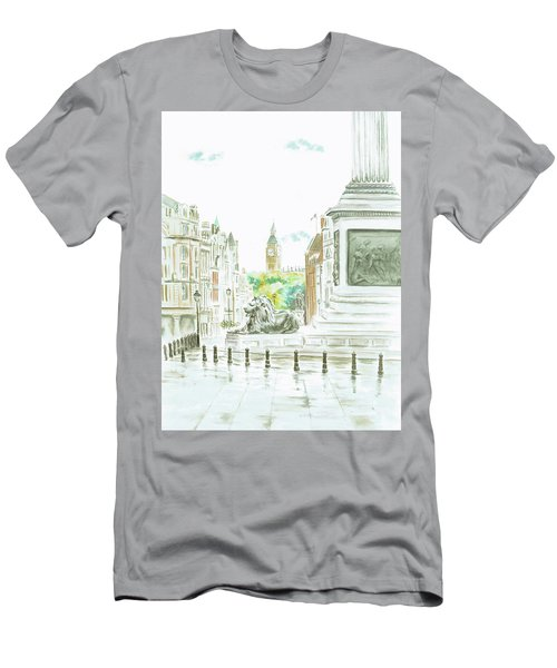 Trafalgar Square Men's T-Shirt (Athletic Fit)