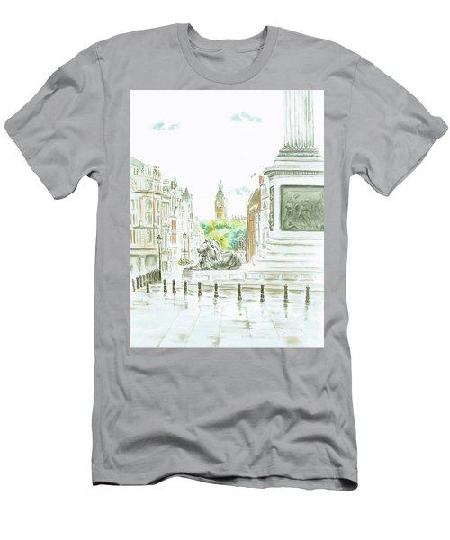 Trafalgar Square Men's T-Shirt (Athletic Fit)