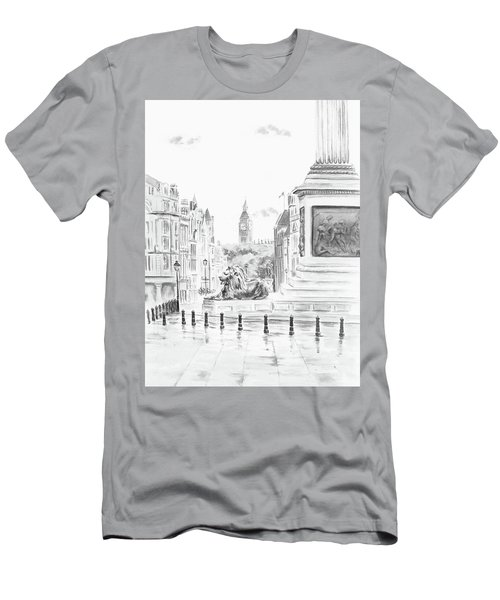 Trafalgar Square II Men's T-Shirt (Athletic Fit)