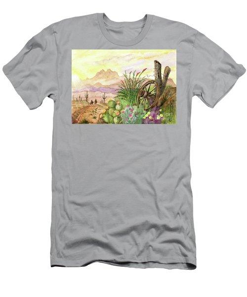 Trail At Sunrise Men's T-Shirt (Athletic Fit)