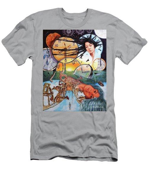 Trampas Del Tiempo Men's T-Shirt (Slim Fit) by Jorge L Martinez Camilleri