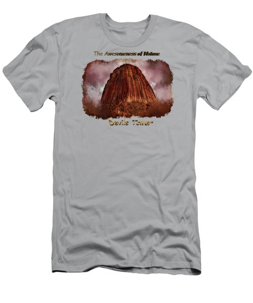 Transcendent Devils Tower 2 Men's T-Shirt (Athletic Fit)